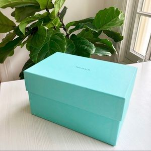 Authentic Tiffany & Co Large Blue Gift Box (Empty)